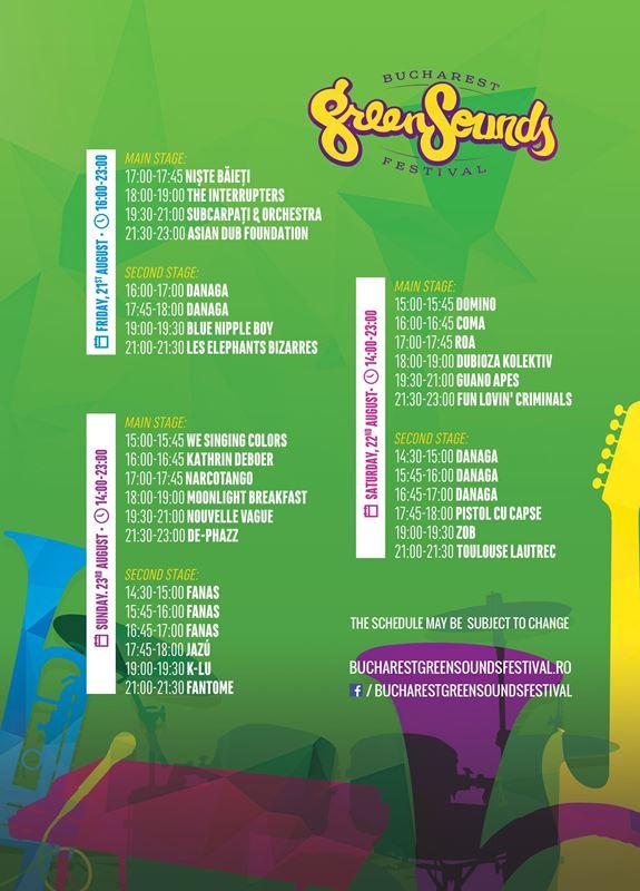 PROGRAM GreenSounds 2015